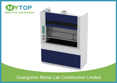 5 Feet Steel Laboratory Fume Cupboard For School , Chemical Vent Hood