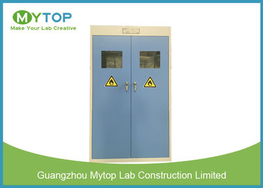 Steel Chemical Laboratory Storage Cabinet / Double Gas Cylinder Safety Cabinets